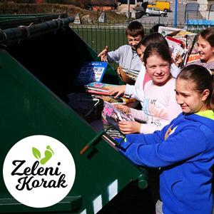 Rekordan broj osnovnih škola sudjeluje u eko akciji Zeleni korak 2019