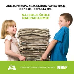 Poziv školama na uključenje u akciju Zeleni korak 2020