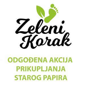 Odgođena akcija dm Zeleni korak